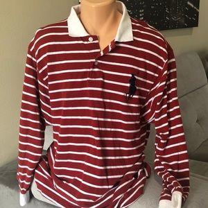 Vtg Ralph Lauren Striped Long Sleeve T-shirt